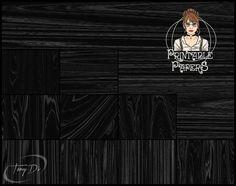Black Wood Grain Textures 8.5x11 Printable by TanyDiDesignStudio