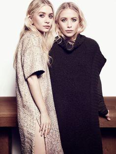 Fashion Icon I celebrity style I Mary Kate and Ashley Olsen I olsen sisters I portrait I beauty I photography @monstylepin