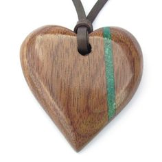 handcrafted wooden jewellery and wooden pendants persoanlised gift for a 5th wedding anniversary