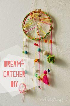 Dream catcher DIY