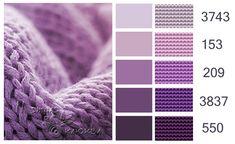 ⚫ Мятная клюква ⚫ Colour Pallette, Color Palate, Colour Schemes, Color Combinations, Cross Stitch Floss, Dmc Embroidery Floss, Color Harmony, Color Psychology, Yarn Colors