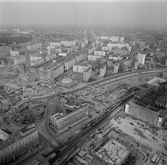 Alexanderplatz in aanbouw, 1967