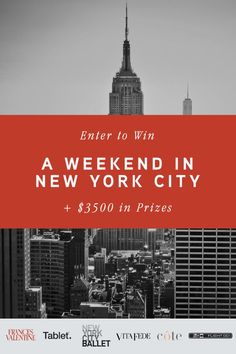 Win a Weekend in New York!