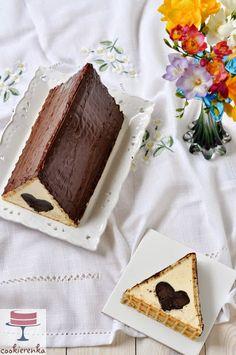 Ciasto CHATKA MIŁOŚCI, nie Baby Jagi ;) Good Food, Yummy Food, Cake Shapes, Sweets Cake, Polish Recipes, Keto Snacks, Chocolate Desserts, Food Hacks, Food To Make