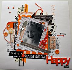 Scrapping with Thamar: cards and scrap challenge nummer 18