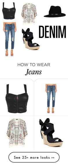"""Rocking Dem Jeans"" by faith-heppler on Polyvore featuring Siwy, UGG Australia and rag & bone"