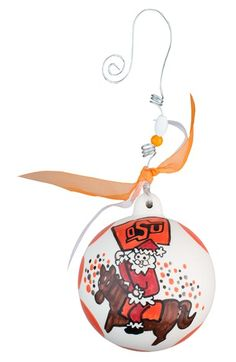 Glory Haus 'Collegiate' Ceramic Ball Ornament available at #Nordstrom