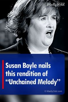 Boyle became an instant sensation. Hear her make her mark on 'Unchained Melody'.Susan Boyle became an instant sensation. Hear her make her mark on 'Unchained Melody'. Music Sing, Dance Music, Live Music, Cool Music Videos, Good Music, Amazing Music, Wow Video, Unchained Melody, Britain Got Talent