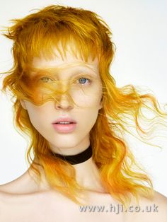 See how Robert Eaton uses an experimental palette of shades of yellow add drama to this stunning hairstyle
