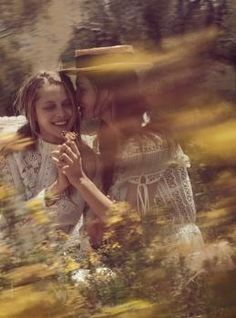 Picnic at Hanging Rock inspired shoot.  Teresa Palmer, Phoebe Tonkin - Vogue March 2015 (Australia)