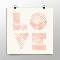 Placa decorativa - Love - Decohouse