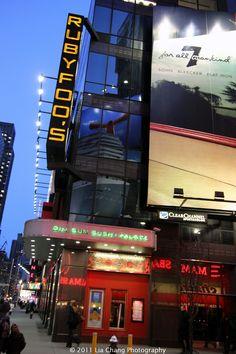 CULINARY ESCAPADE: Ruby Foo's New York
