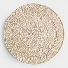 the tribal inspired patterns on our wall plaque are hand carved of mango wood by - Bedroom Wall Plaques