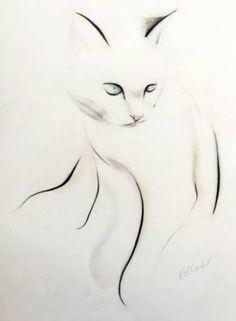 """Saatchi Art Artist Kellas Campbell; Drawing, """"Gentle time before sleep"""" #art"""