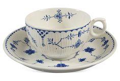 Royal Copenhagen Tea Set
