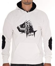 Hoodie : Reference White - Black  Hoodie Reference White – Black Fabric high quality Inside 100% cotton Outside 50% Cotton 50% Polyester 320 grs Permanent colour Screen - print: Pvc free plastisol #Hoodie, #Clothes, #Oxygendrop,