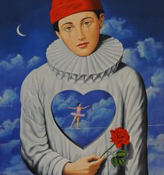 "rafal olbinski | Explicit Introspection"" Rafal Olbinski"