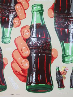 COCA COLA Decals Original Large Sheet 32 by FindingMaineVintage, $119.00
