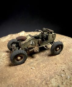 ANDIGOmodels / Pro Build Plastic Resin Scale Model Design by Andigo Kit Bash. Post Apocalyptic Art, Air Car, Death Race, Military Diorama, Dieselpunk, Plastic Models, Custom Cars, Scale Models, Classic Cars