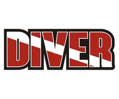 Scuba Diving Flag Diver Sticker