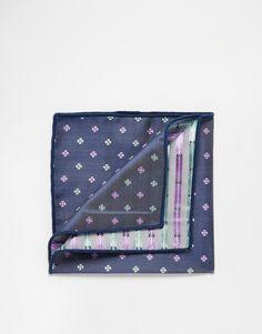 Einstecktuch von Jack  Jones weiches Material aufgesticktes Design Mit feuchtem Tuch abwischen. 100% Polyester H: 25 cm/10 Zoll; B: 25 cm/10 Zoll . . . . . der Blog für den Gentleman - www.thegentlemanclub.de/blog