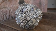 Wedding Bridal Brooch Bouquet Diamantie brooches by BespokeBySteph, £325.00