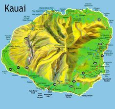 Island of Kauai, to keep my locations straight. Alaska non-stop flights available to Lihue. Nothing on Hawaiian. Hotel's include Marriott in Lihue and St. Regis in Princeville