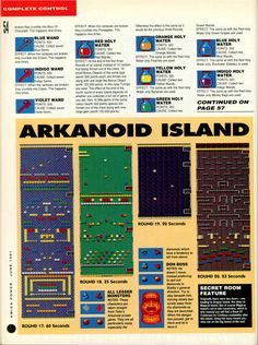 Amiga Power Rainbow Islands guide Page 9