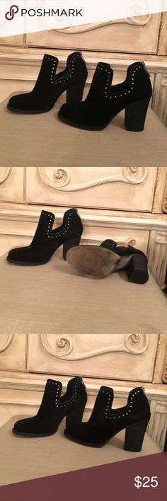 Like new Shoe Cult by Nasty Gal suede booties Like new excellent condition! Size 6 Nasty Gal Shoes Ankle Boots & Booties