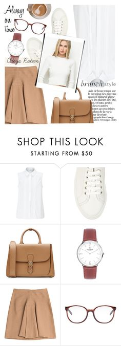 """Brunch style"" by odeya-rotem ❤ liked on Polyvore featuring John Lewis, Common Projects, Burberry, Derek Lam and Chloé"