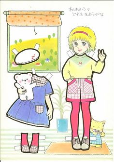 This From Eugenia - MaryAnn - Picasa 웹앨범 Doll Japan, Vintage Paper Dolls, Japanese Paper, Manga, Old Toys, Free Paper, Anime Style, Family Guy, Album