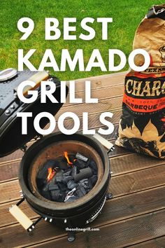 Check out these best Kamado grill accessories for your kamado grill or Kamado Joe. Including Kamado pizza stones, griddle inserts, rotisserie inserts, and more! Best Kamado Grill, Bbq Grill, Barbecue, Pizza Stones, Ceramic Grill, Kamado Joe, Grill Accessories, Best Bbq, Bbq Tools