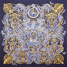 luxury-scarves.com 'La Charmante aux Animaux', Annie Faivre. 2010/11