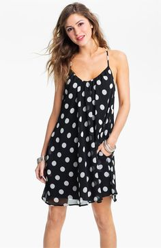 8dbe5ed20d6 Dee Elle Chiffon Trapeze Dress (Juniors) available at  Nordstrom - I also  like