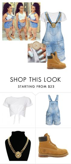 """""""Timberlands"""" by arii-bankss ❤ liked on Polyvore featuring INC International Concepts, ONLY, H&M, Timberland and MICHAEL Michael Kors"""