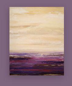 Acrílico arte abstracto pintura Galería lona por OraBirenbaumArt
