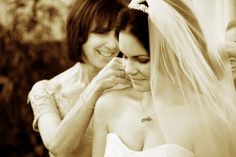 Mother and Daughter before wedding in St. Augustine by Kevin Radford Photography
