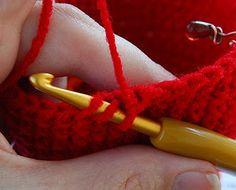 Crochet - invisible decrease