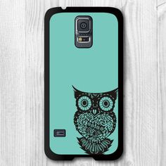 Hey, I found this really awesome Etsy listing at https://www.etsy.com/listing/197928101/samsung-galaxy-s5-case-mint-owl-galaxy