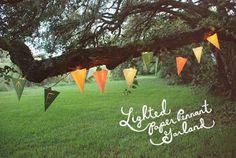 lighted garland
