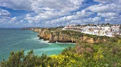 Webshots - Coast at Carvoeiro, Algarve, Portugal