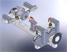 Robotic Weld Fixture