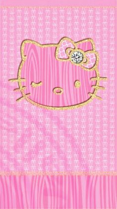 add a caption on We Heart It Hello Kitty Backgrounds, Hello Kitty Wallpaper, Phone Backgrounds, Hello Kitty Pictures, Kitty Images, Pink Love, Cute Pink, Black Phone Wallpaper, Wallpaper Desktop