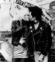 Chloe Webb & Gary Oldman as Sid  & Nancy