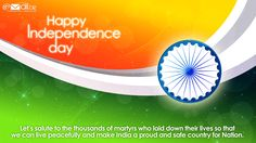 Let's wish Happy Independence Day to the whole nation & celebrate the glory of Independent India