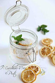 Sale aromatizzato al limone
