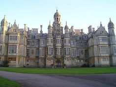 Harlaxton Castle in Harlaxton, England    It's insane I will be there in two months time!