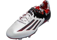 adidas Messi 10.1 FG Soccer Cleats - White and Granite...gge it at SoccerPro today!