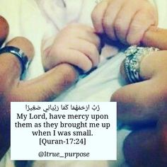 May Allah SWT have mercy upon our parents #ameen #Quran #learnIslam