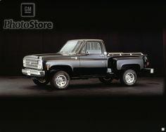 1980 Chevrolet K-10 Silverado Stepside 4x4 Pickup